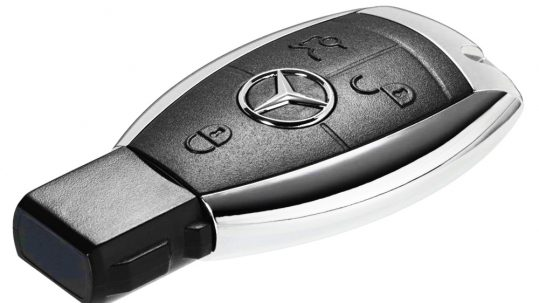 a new Mercedes Benz key fob